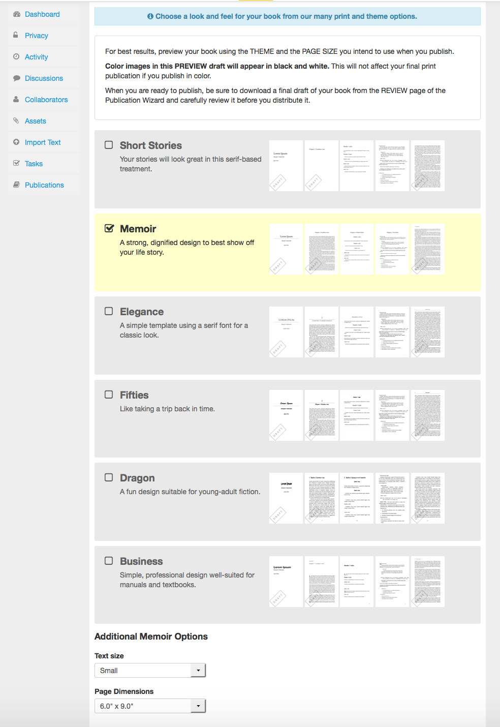 themes interior book templates publishing knowledgebase